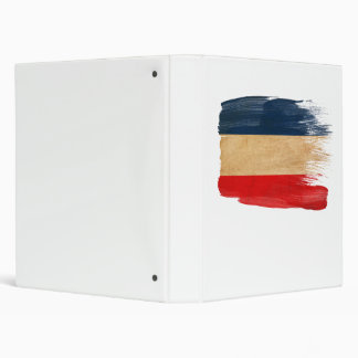 Yugoslavia Flag Binder