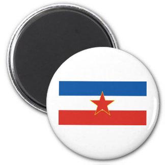 yugoslavia flag fridge magnets
