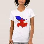 Yugoslavia Flag Map full size T Shirt