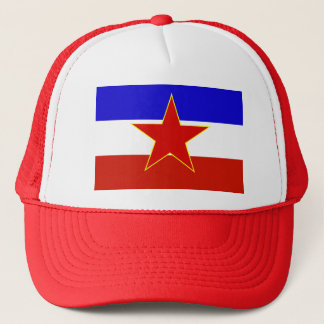 Yugoslavia Flag Trucker Hat