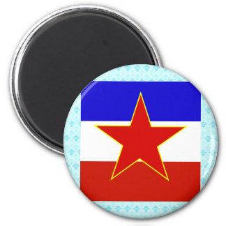 Yugoslavia High quality Flag Fridge Magnets