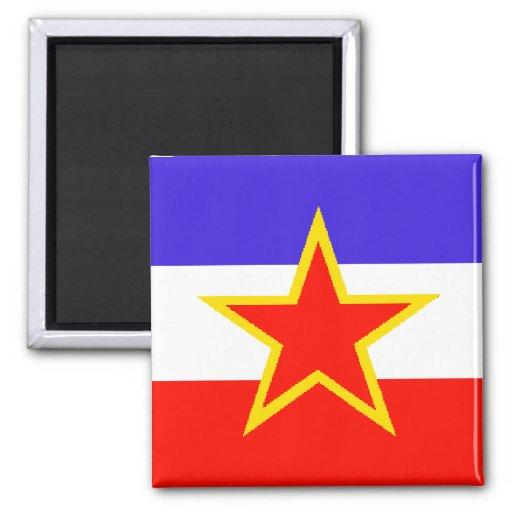Yugoslavia Imán Cuadrado