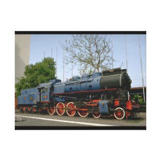 Yugoslavia, JZ 4-8-0 #11-022_Trains of the World Canvas Print