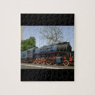 Yugoslavia, JZ 4-8-0 #11-022_Trains of the World Jigsaw Puzzle