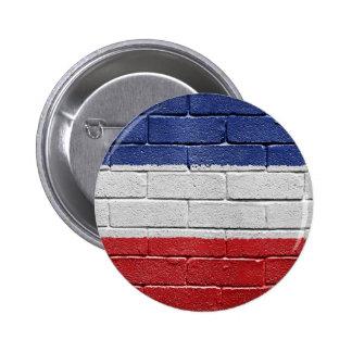 Yugoslavia Kingdom Flag 2 Inch Round Button