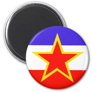 Yugoslavia Fridge Magnet