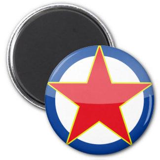 Yugoslavia - retro fridge magnet