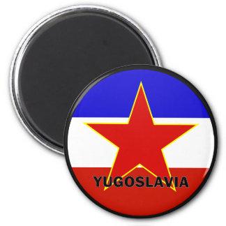 Yugoslavia Roundel quality Flag Fridge Magnet