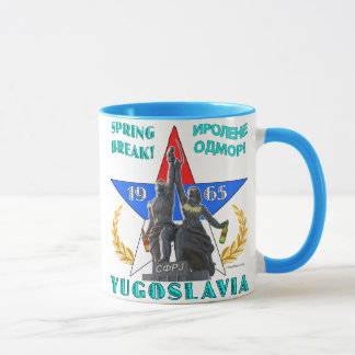 Yugoslavia Spring Break 1965 Mug