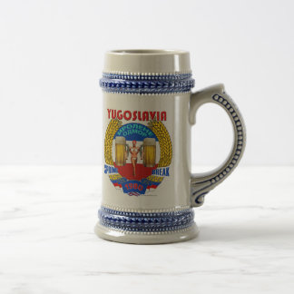 Yugoslavia Spring Break 1980 Stein Coffee Mugs