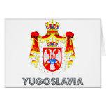 Yugoslavian Emblem Cards
