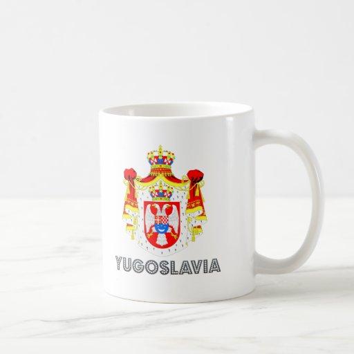 Yugoslavian Emblem Mugs