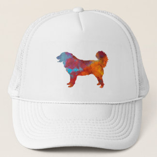 Yugoslavian Shepherd DOG in watercolor Trucker Hat