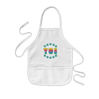 Yui in Flores Rainbow Kids' Apron