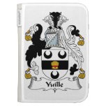 Yuille Family Crest Cases For Kindle