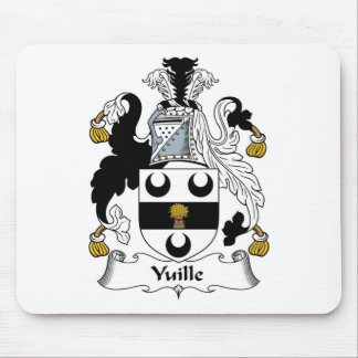 Yuille Family Crest Yuille Coat of Arms Mouse Mat