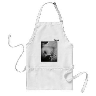 Yuki bw adult apron