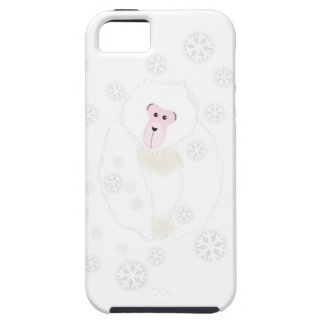 Yuki Monkey Gray Cell Case iPhone 5 Cases