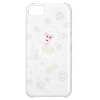 Yuki Monkey Gray Cell Case iPhone 5C Case