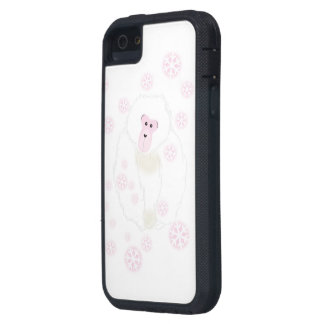 Yuki Monkey Pink Cell Case iPhone 5 Covers