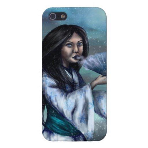 Yuki-onna iPhone Case iPhone 5 Cover