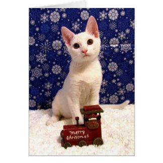 Yuki's Christmas Train (2072) Card