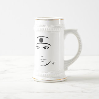 Yukio Mishima Beer Stein
