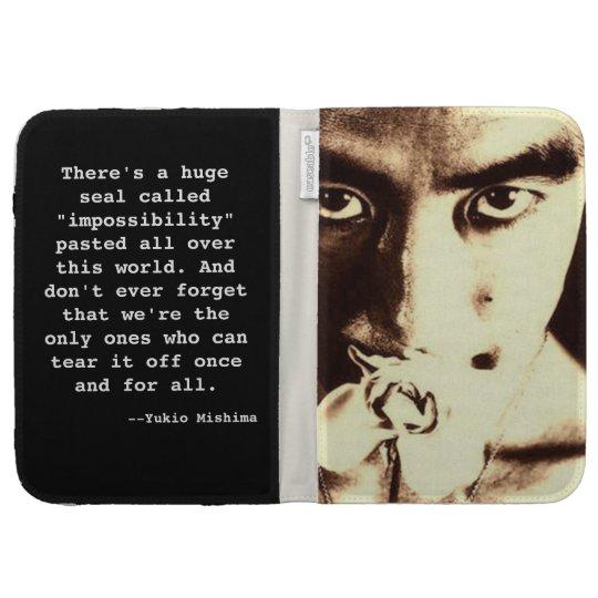 Yukio Mishima Kindle Case