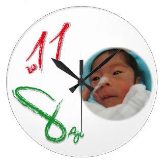yukio yoshida laki easy raw Firenze your direct it Large Clock