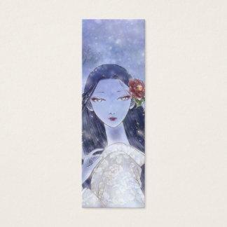 Yukionna Bookmark Mini Business Card