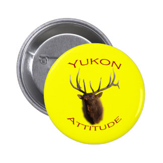 Yukon Attitude 2 Inch Round Button