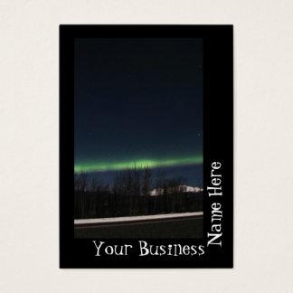 Yukon Aurora Borealis Business Card