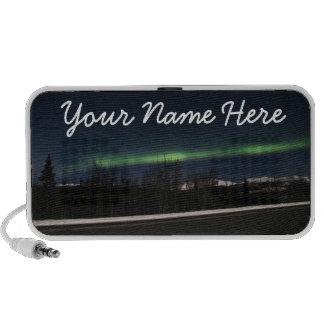Yukon Aurora Borealis; Customizable Laptop Speaker
