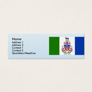 Yukon, Canada Mini Business Card