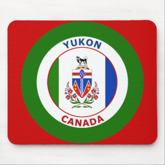 YUKON, CANADA MOUSE PAD