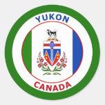 YUKON, CANADA STICKER