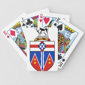 Yukon Coat of Arms Poker Cards