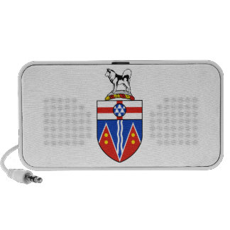 Yukon Coat of Arms Mp3 Speakers