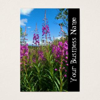 Yukon Fireweed Business Card