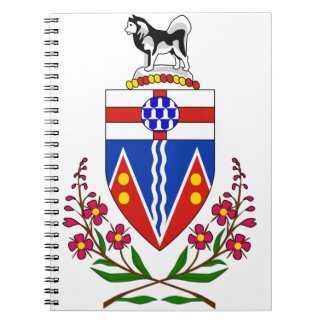 Yukon Flag Notebook