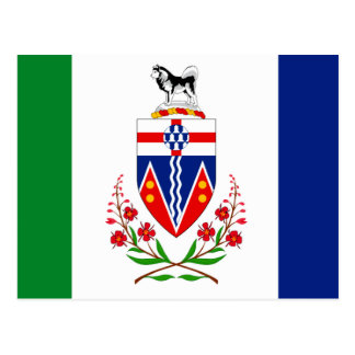 YUKON FLAG POSTCARD