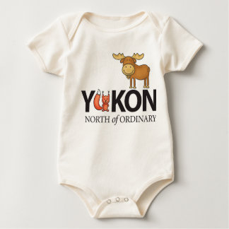 Yukon Foxy Moose Organic Infant Baby Bodysuit