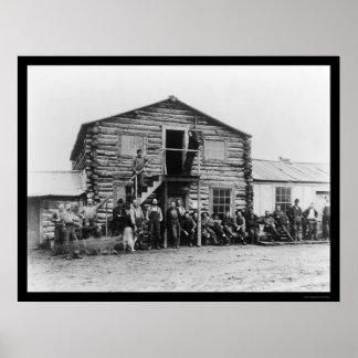 Yukon Gold Company in Dawson 1914 Poster