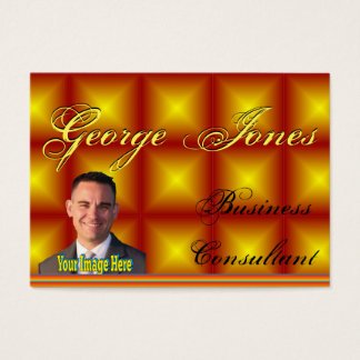 Yukon Gold Face Name Business Card