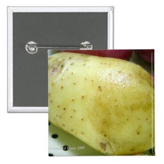 Yukon Gold potato Pinback Button