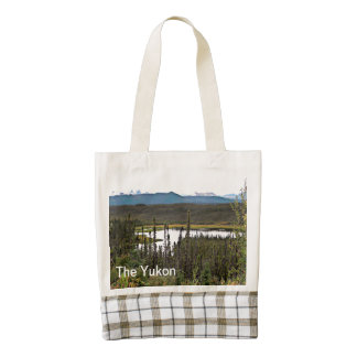 Yukon Pond Zazzle HEART Tote Bag
