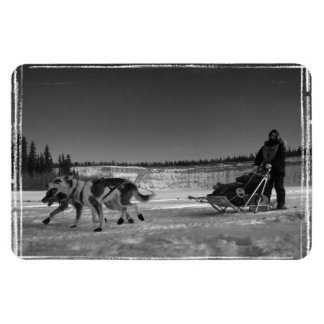 Yukon Quest Close-Up; No Text Magnet