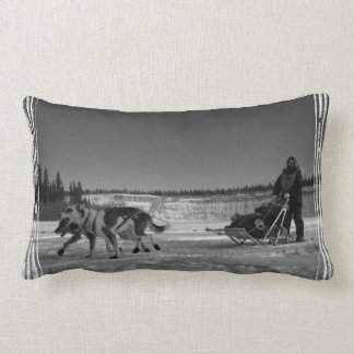 Yukon Quest Close-Up; No Text Pillows