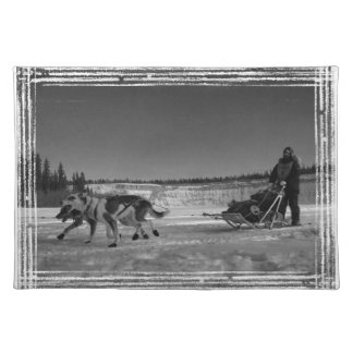 Yukon Quest Close-Up; No Text Cloth Placemat