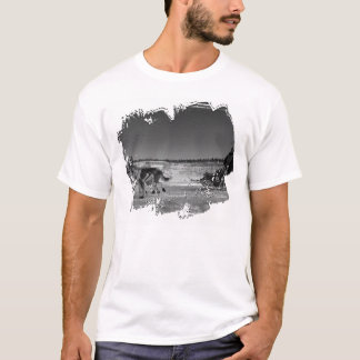 Yukon Quest Close-Up; No Text T-Shirt